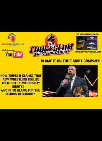 HOW TRIPLE H CLAIMS THAT AEW BULLIED NXT OUT OF WEDS NIGHT TV? WHO IS REALLY TO BLAME? IS IT VINCE?