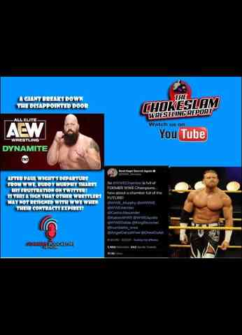 The Big Show signs w/AEW, Murphy shares his frustration on Twitter. Are these bad signs for WWE?