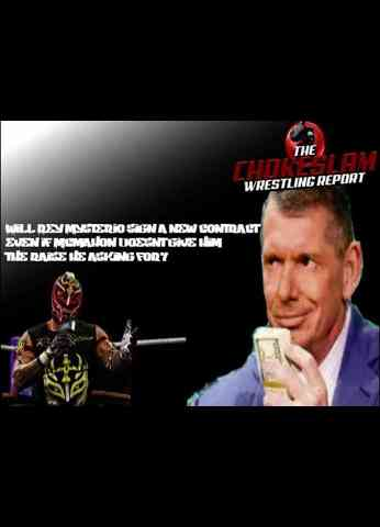 Will Rey Mysterio sign a new contract even if Mcmahon doesnt give him the raise he is asking for?