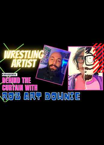 Art For Wrestlers with Rob Art Downie