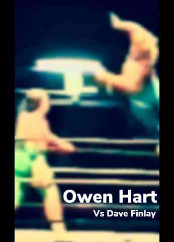 Owen Hart Vs Fit Finlay