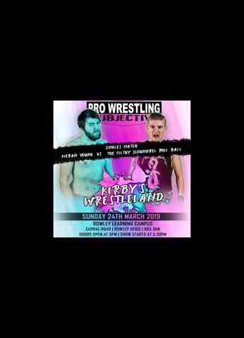 *** FREE MATCH - Kieran Young vs Phil Ball - Pro Wrestling Subjective ***