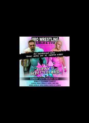 FREE MATCH - Pro Wrestling Subjective - Martin Kirby vs TJ SKY for the Championship