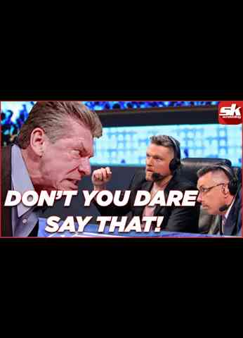 5 words that WWE Chairman Vince McMahon doesn't prefer to hear on commentary