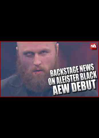 Backstage Reports On How Aleister Black Was Able To Debut in AEW   SK Wrestling Top Story