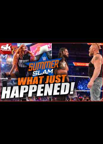 Becky Lynch squashes champion; Brock Lesnar returns; new champions crowned l WWE SummerSlam Review