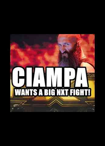 Big changes ahead For WWE? Ciampa wants a big NXT fight   InSide Kradle