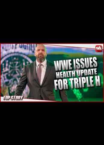 """BREAKING NEWS - WWE issues a health update for Paul """"Triple H"""" Levesque   SK Wrestling Top Story"""