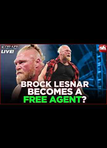 Brock Lesnar a free agent?; Seth Rollins commits home invasion on SmackDown   WWE Draft LIVE