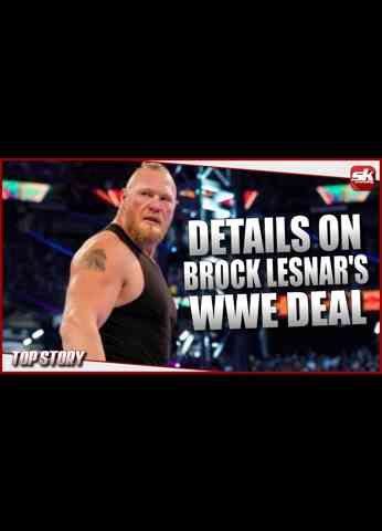 Brock Lesnar status with WWE & contract details   SK Wrestling Top Story