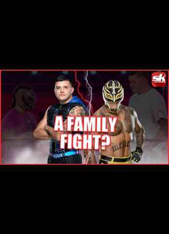 Dominik Mysterio on his arguments with his father  #shorts