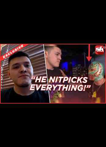 Dominik Mysterio on wearing a mask, RK-Bro, and WWE backstage issues with Rey Mysterio