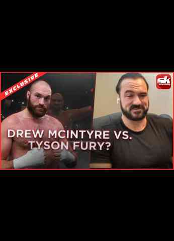 Drew McIntyre reveals if he could face Tyson Fury in a WWE match