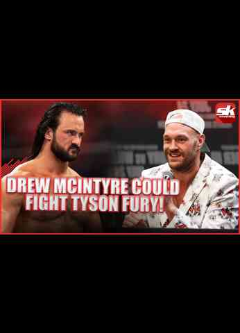 Drew Mcintyre reveals whether he would fight Tyson Fury #shorts