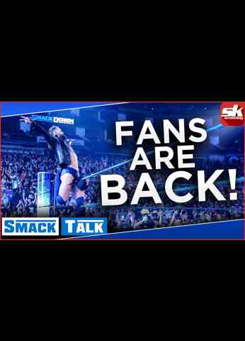Fans are back; Edge gets the better of Roman Reigns   WWE SmackDown Review   Smack Talk