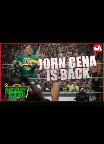 John Cena returns to confront Roman Reigns   WWE Money in the Bank 2021 Results and Review