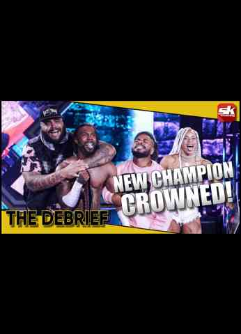 New Champion crowned; What's next for Kenny Omega?   AEW Dynamite & WWE NXT Review   The Debrief