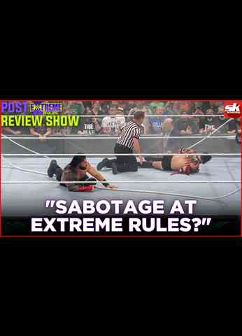 Sabotage at Extreme Rules spoils Roman Reigns vs Finn Balor?   WWE Extreme Rules 2021 Live Review