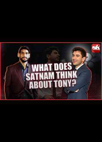 Satnam Singh talks about working with Tony Khan in AEW #shorts