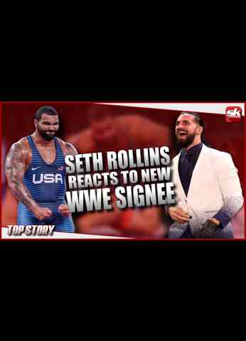 Seth Rollins reacts to new WWE signee, Gable Steveson   SK Wrestling Top Story