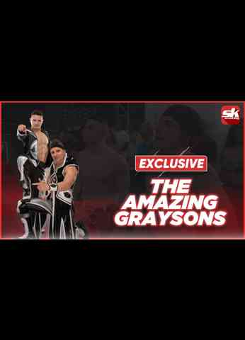 The Amazing Graysons talk about wrestling on AEW Dark, praise for Taz, dream opponents & more