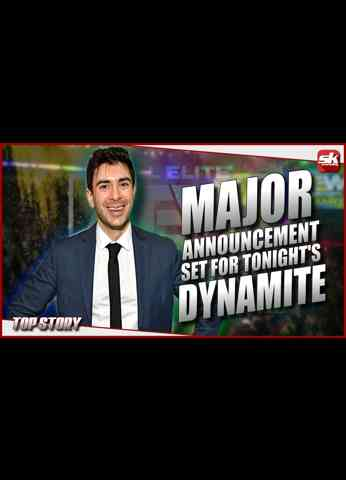 Tony Khan set to make a major announcement on tonight's AEW Dynamite   SK Wrestling Top Story