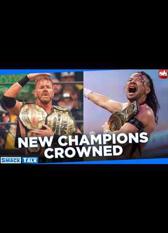 Two huge title changes on WWE SmackDown and AEW Rampage; John Cena faces Roman Reigns   Smack Talk