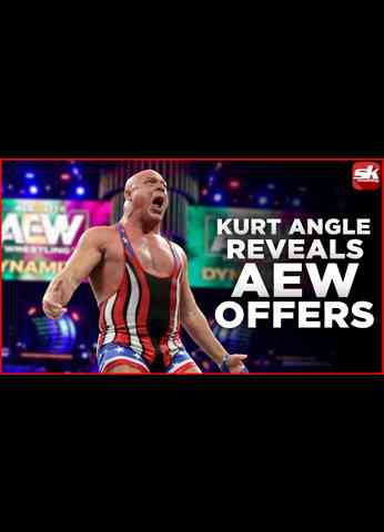 WWE Hall of Famer Kurt Angle reveals AEW offers   SK Wrestling Top Story