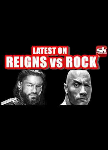 WWE working on a mega-match with the Rock for WrestleMania   Sportskeeda Wrestling