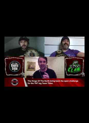 Exculsive interview with TNT Tag Team Champions, the Kings of the North
