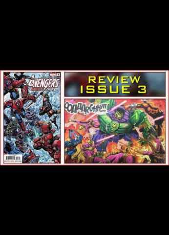 Avengers Mech Strike Issue 3 Comic Book Review