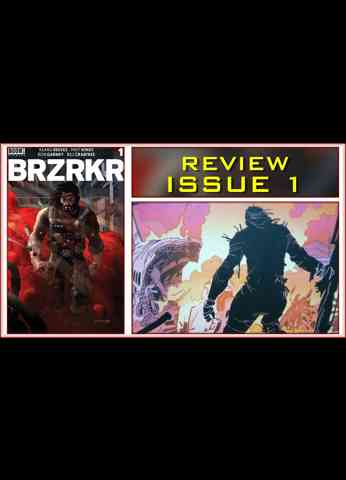 BRZRKR Issue 1 Comic Book Review - Created by Keanu Reeves