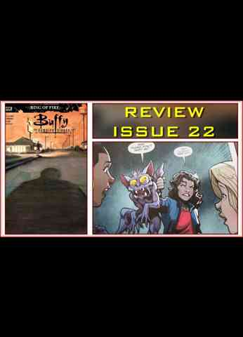 Buffy The Vampire Slayer Issue 22 - Ring Of Fire COMIC BOOK REVIEW