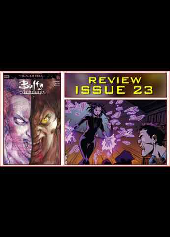 Buffy The Vampire Slayer Issue 23 Comic Book Review - Dark Willow has arrived!