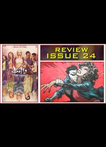 Buffy The Vampire Slayer Issue 24 Ring Of Fire