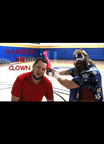 CHUCKLES THE CLOWN Interview at BLUEPRINT PRO WRESTLING
