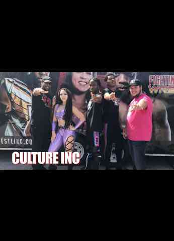 CULTURE INC Interview at Fighting Evolution Wrestling