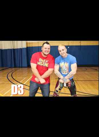 D3 the Prince Of Rome Interview at BluePrint Wrestling