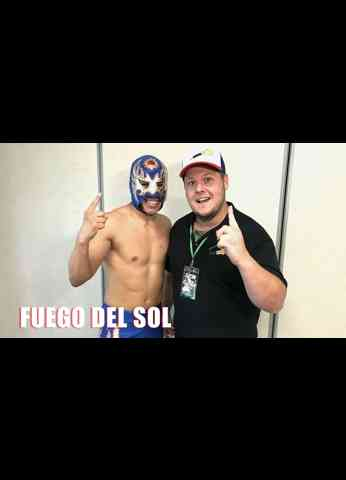 Fuego Del Sol Interview - Flame On! Wrestling on AEW Dark - Wrestling Influences - So Much  Energy