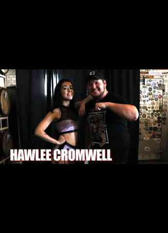 HAWLEE CROMWELL Interview at Ignite Wrestling