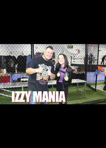 IZZY MANIA Interview at SPW Sweetwater Pro Wrestling presents Born Ready