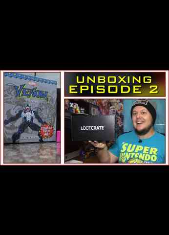 LOOTCRATE Unboxing - Masters Of The Universe MOTU - Venom - Fight Club and More!