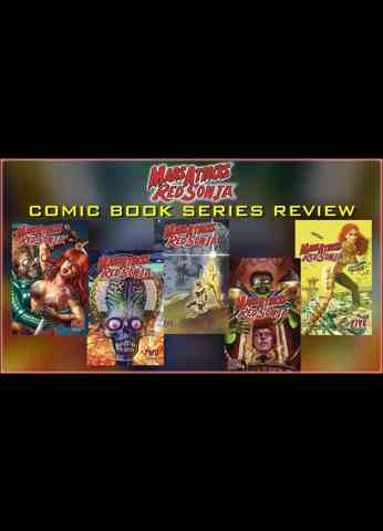 Mars Attacks Red Sonja - Comic Book Series Crossover Review