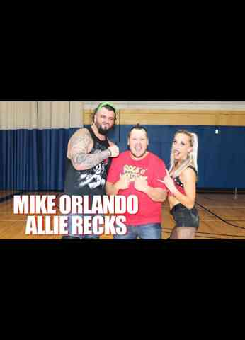 MIKE ORLANDO and ALLIE RECKS Interview at BluePrint Pro Wrestling