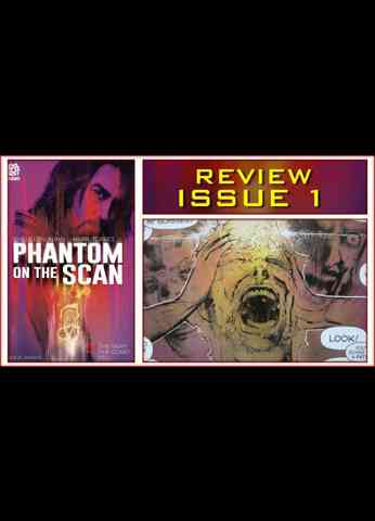 Phantom On The Scan Issue 1 Comic Book Review - The Night The Comet Fell