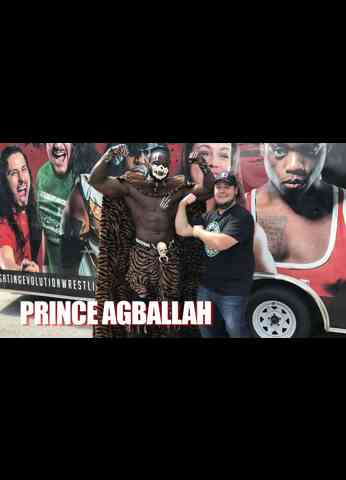 PRINCE AGBALLAH Interview at Fighting Evolution Wrestling