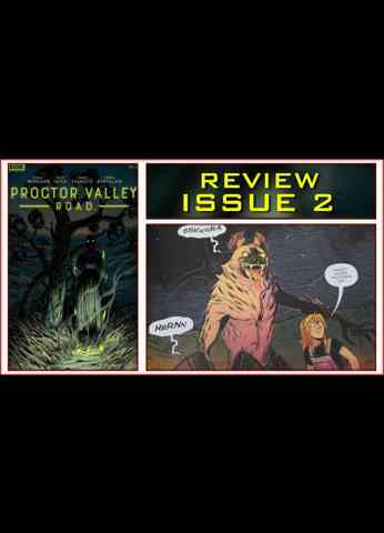 Proctor Valley Road Issue 2 Light In August - Comic Book Review