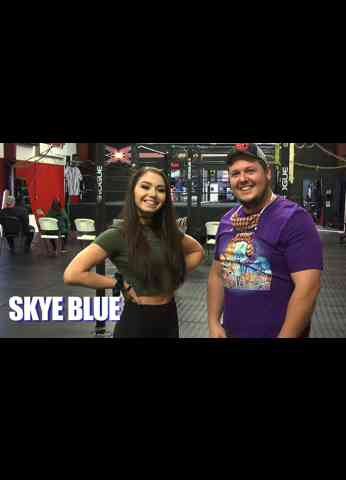Skye Blue Interview at GCW15: The Legend Of The Medallion
