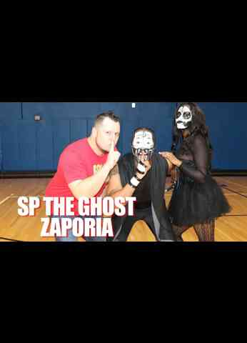 SP THE GHOST Interview at BluePrint Pro Wrestling