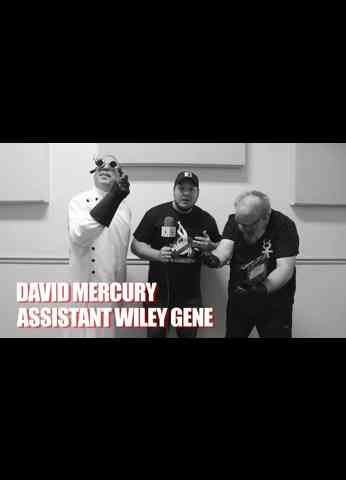 THE TECHNICAL ALCHEMIST DAVID MERCURY and ASSISTANT WILEY GENE Interview at GCW